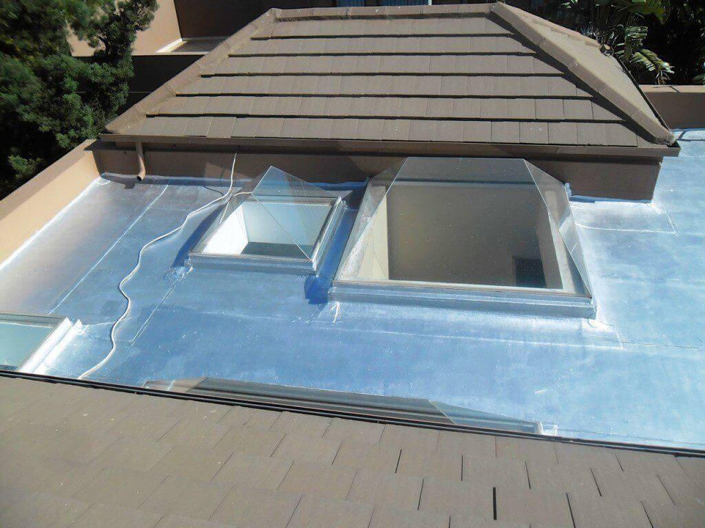 Roofing waterproofing flat concrete waterproof