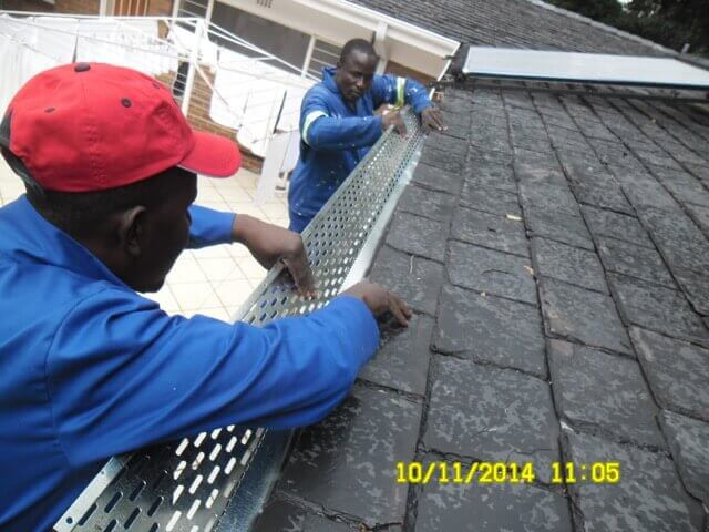 Gutter Guards Cleaning Gutters Peche Roofing