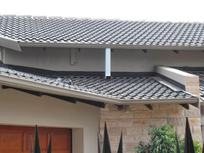 Gutter Tile Roof Overflow